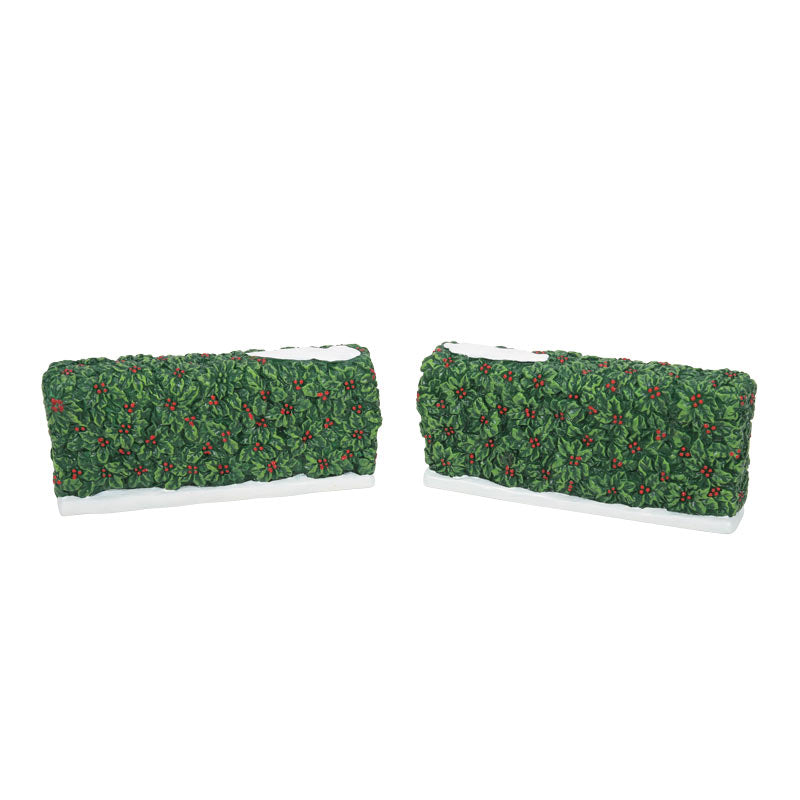 HOLIDAY HOLLY HEDGES accessory