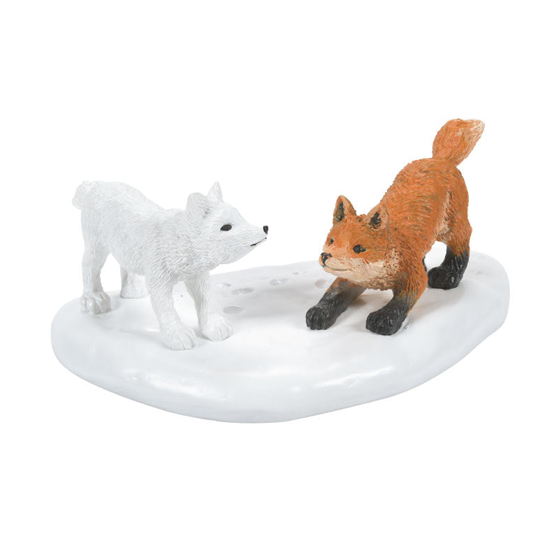 WHITE CHRISTMAS FOX FACE OFF accessory