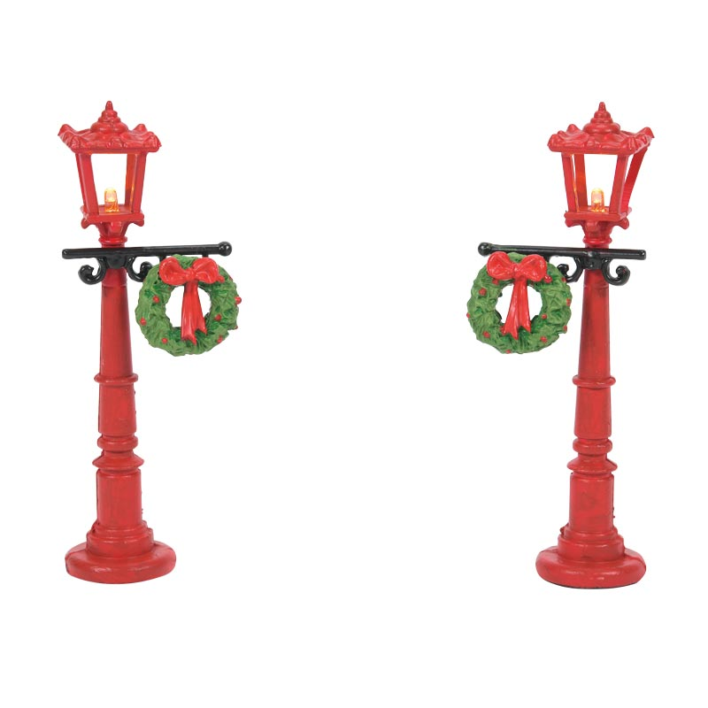 RED WITH GREENS STREET LIGHTS accessory