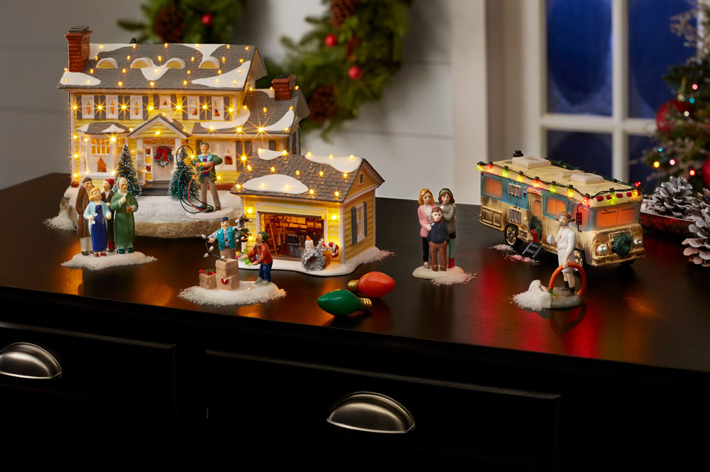 Simpsons Christmas Village.Department 56 Official Site For Christmas Villages
