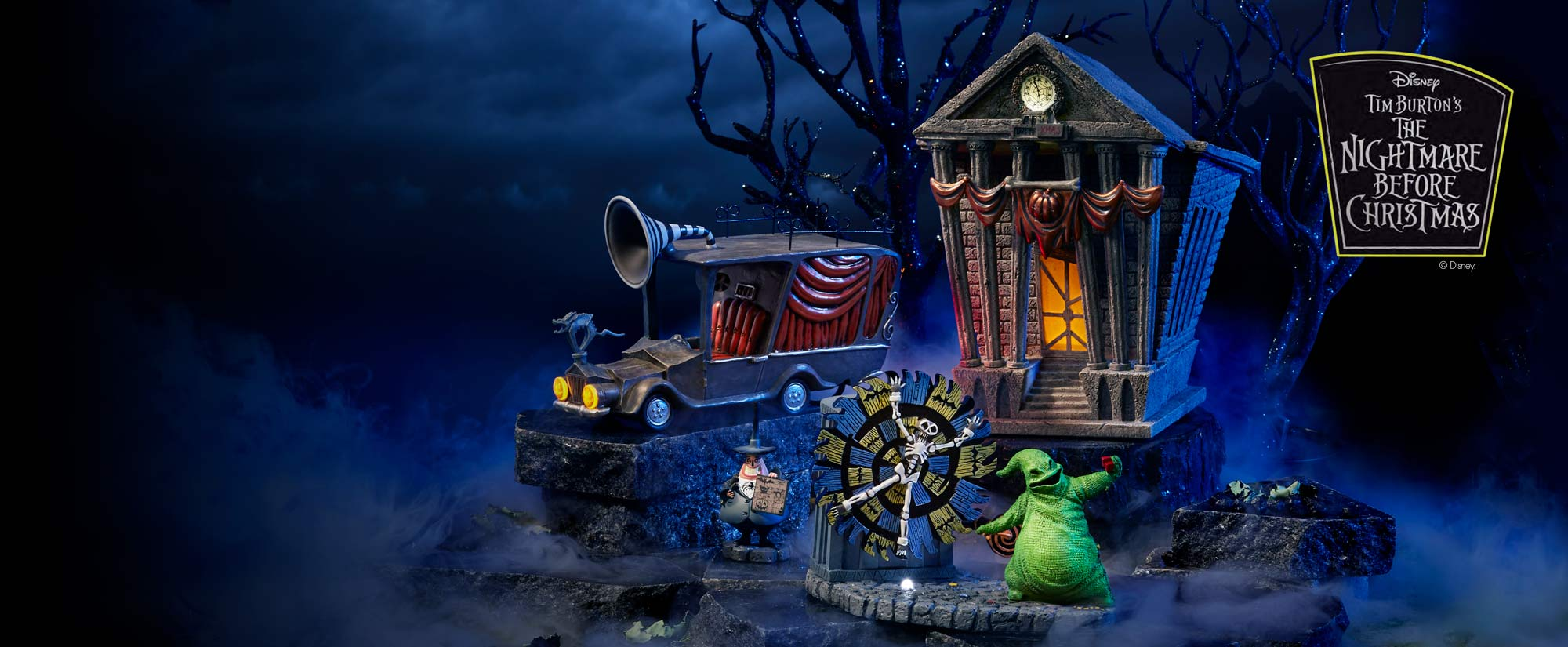 Shop the Nightmare Before Christmas Village