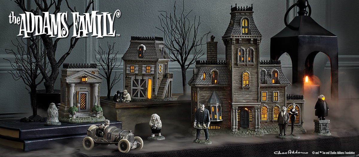 The Addams Family Village Department 56 Official Site