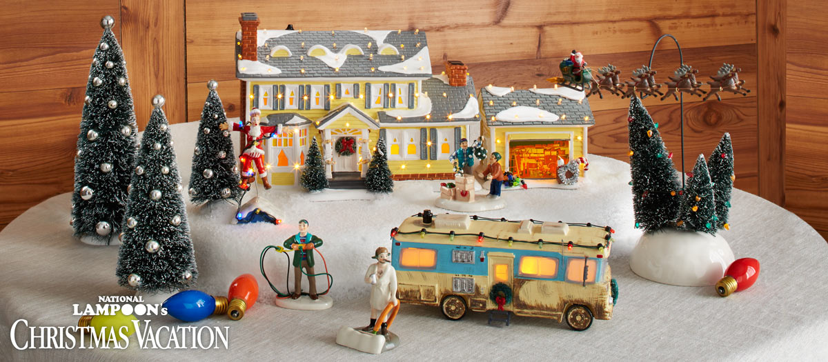 National Lampoon's Christmas Vacation - National Lampoon's Christmas Vacation Villages €� Department 56