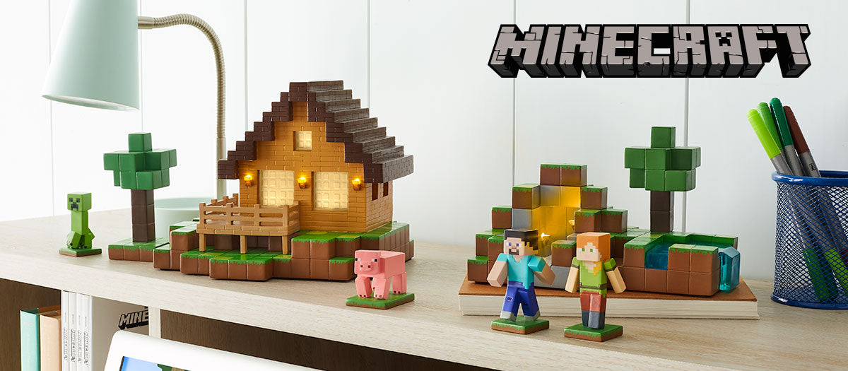 Minecraft Christmas Houses.Minecraft Village Department 56 Official Site