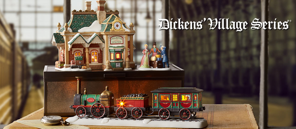 499b5574f Dickens Village Series – Department 56 Official Site