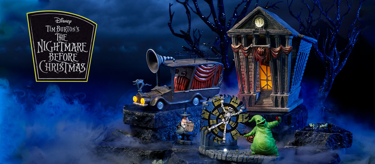 The Nightmare Before Christmas Village