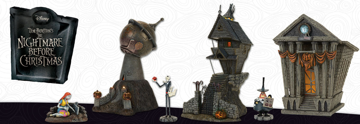 Nightmare Before Christmas Houses.Nightmare Before Christmas Village Series Tagged