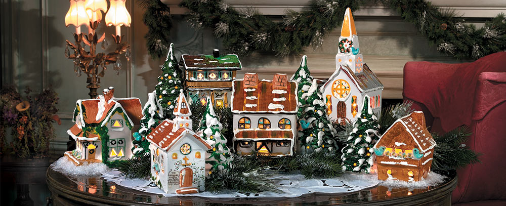 the department 56 story about us - Mall Of America Christmas Decorations