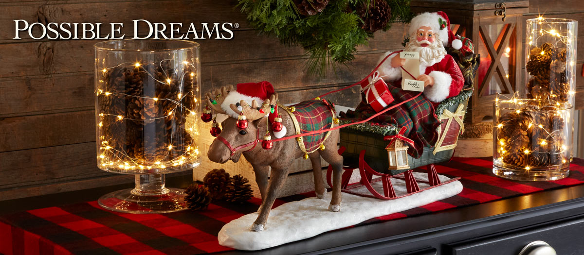 A Dream Of Christmas Hallmark.Possible Dreams Santa Collection Department 56 Official Site