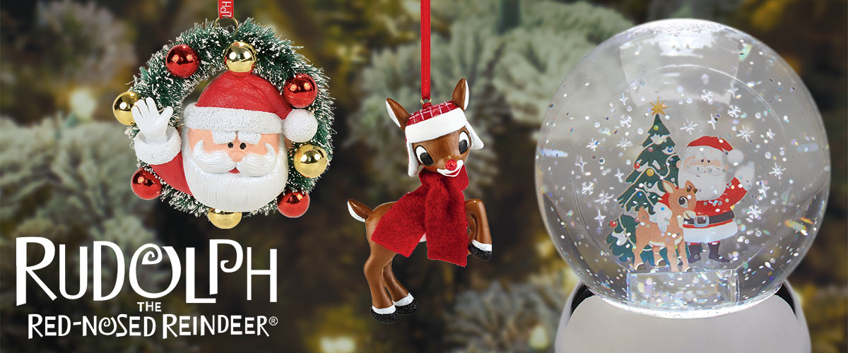 Rudolph Christmas Decorations.Rudolph The Red Nosed Reindeer Department 56 Official Site