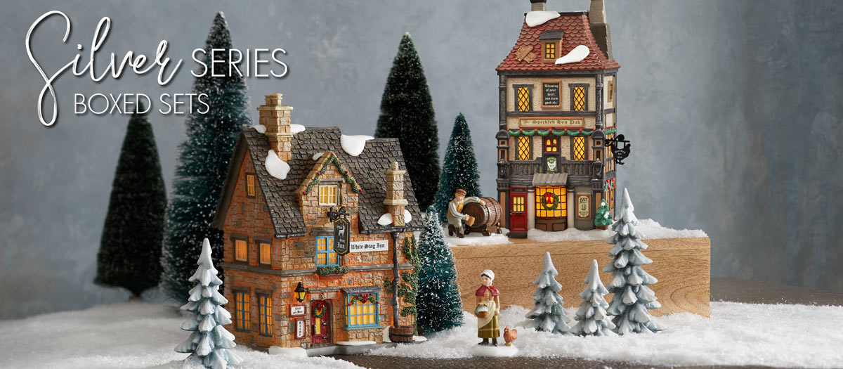 Silver Series Village Boxed Sets