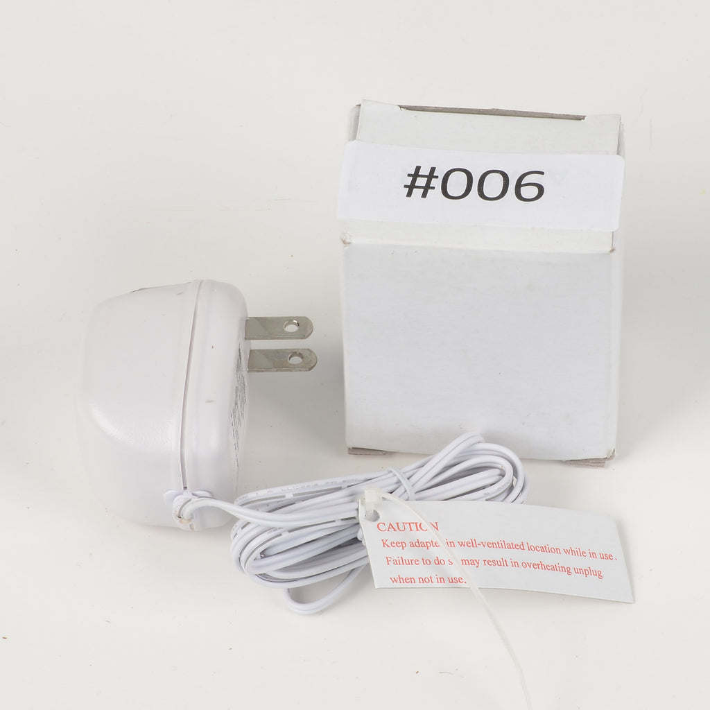 Replacement Adapter 3V AC 1200mA  white female jack