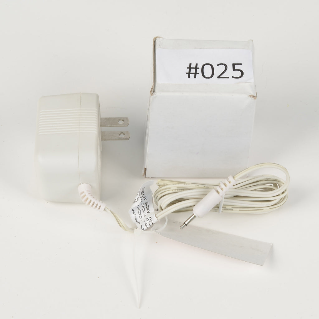 Replacement Adapter 3V AC 600mA white male jack