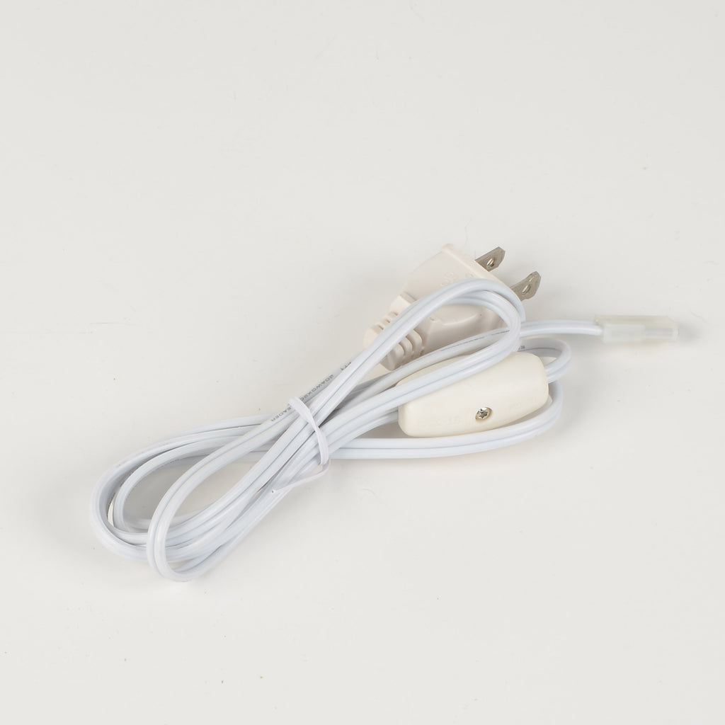 Auxiliary Clip Cord w/female clip, on/off switch