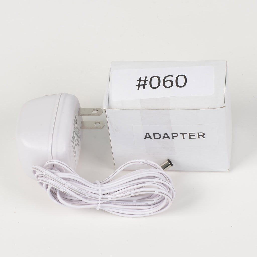 Replacement Adapter 12V AC 400mA white female jack