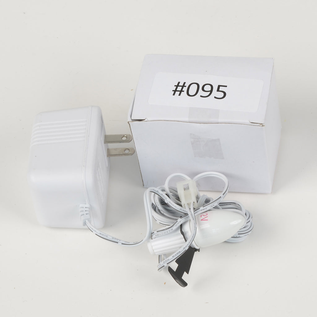 Replacement Adapter 12V AC 700mA male aux clip