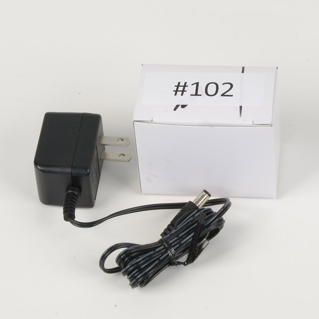 Replacement Adapter 12V AC 1000mA black female jack