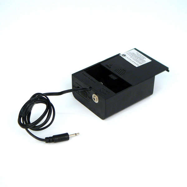 Black Battery Box-uses 2 C batteries