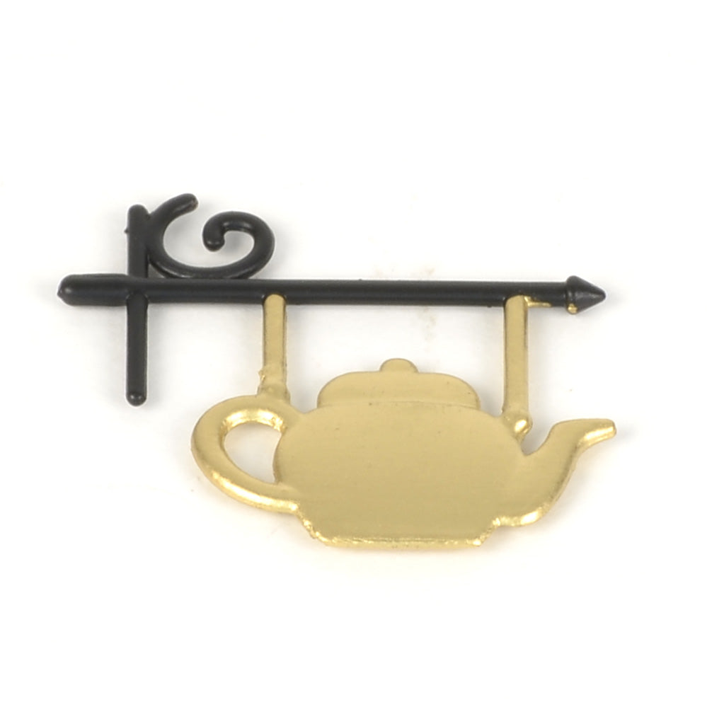 Joseph Edward Tea Shoppe Teapot Sign