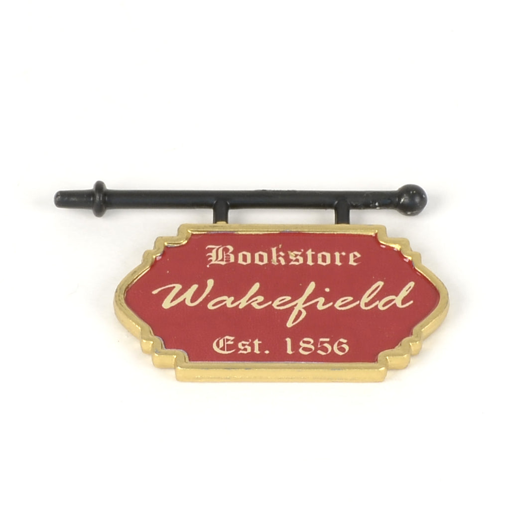 Wakefield Books Sign