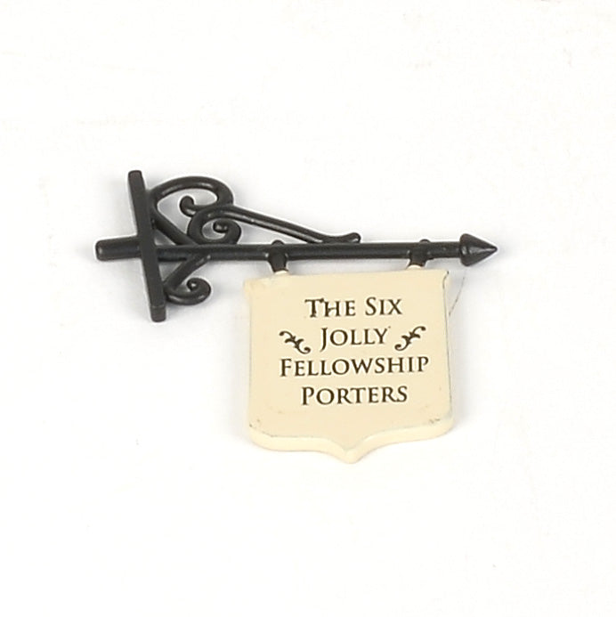 The Six Jolly Fellowship Porters Hanging Sign