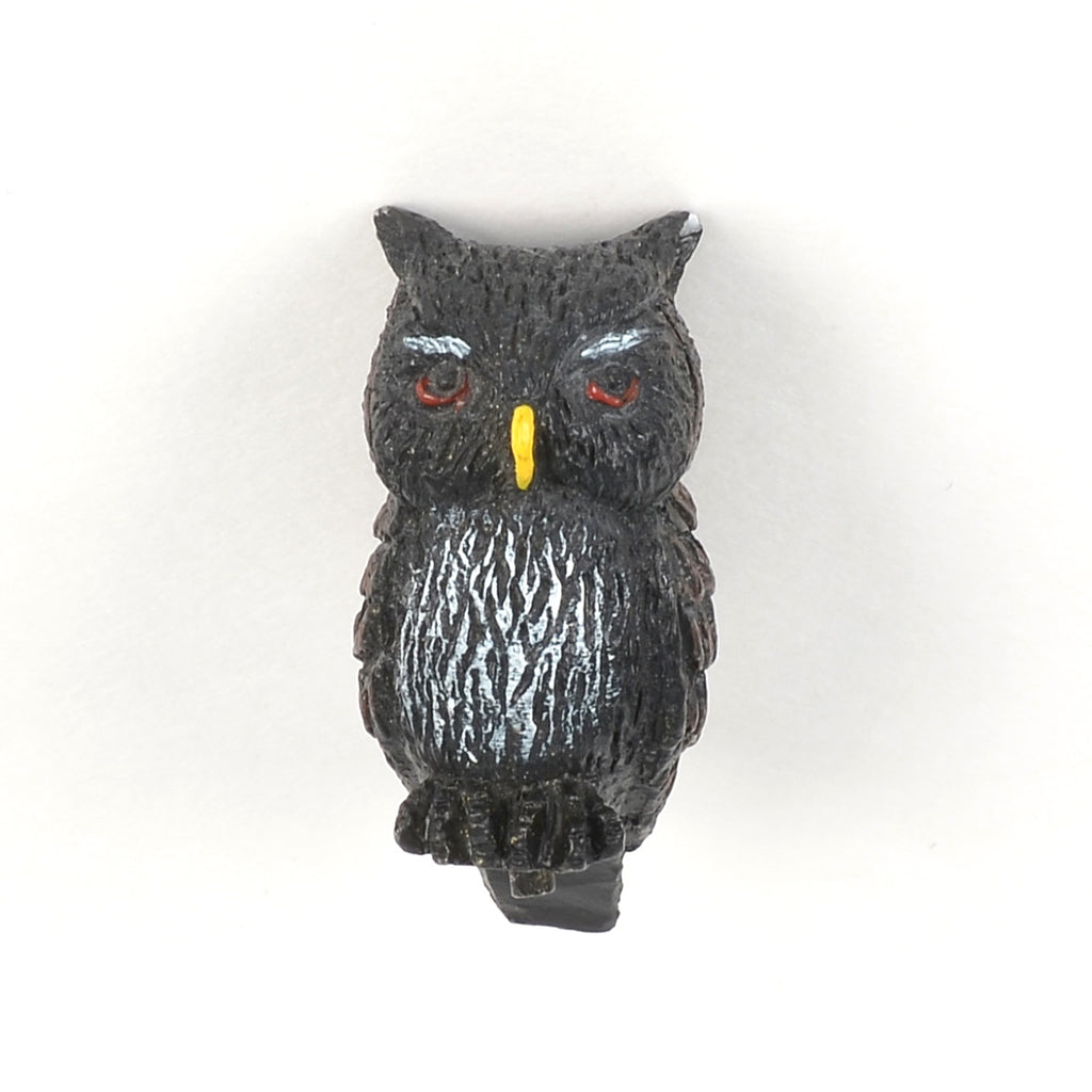 Three Witches Cauldron Haunt Owl Finial