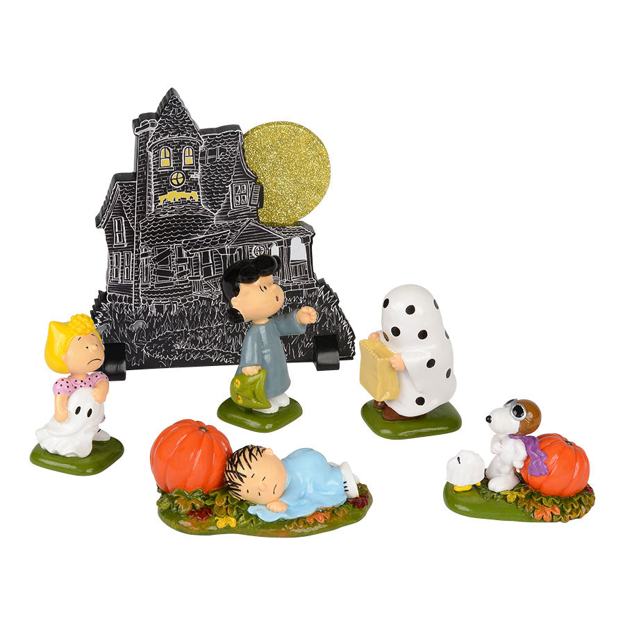 Peanuts Haunted House, Set/6