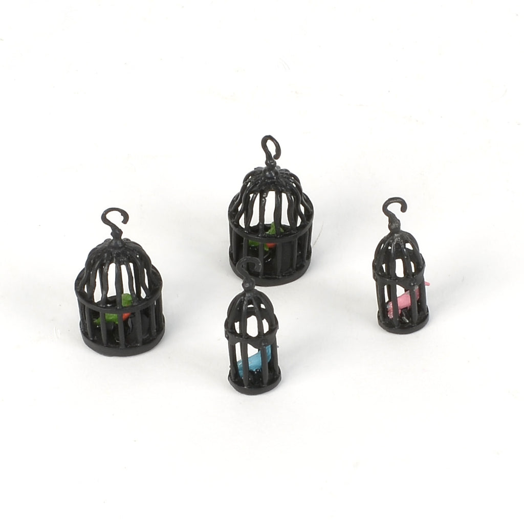 Four Calling Birds Set of 4 Bird Cages