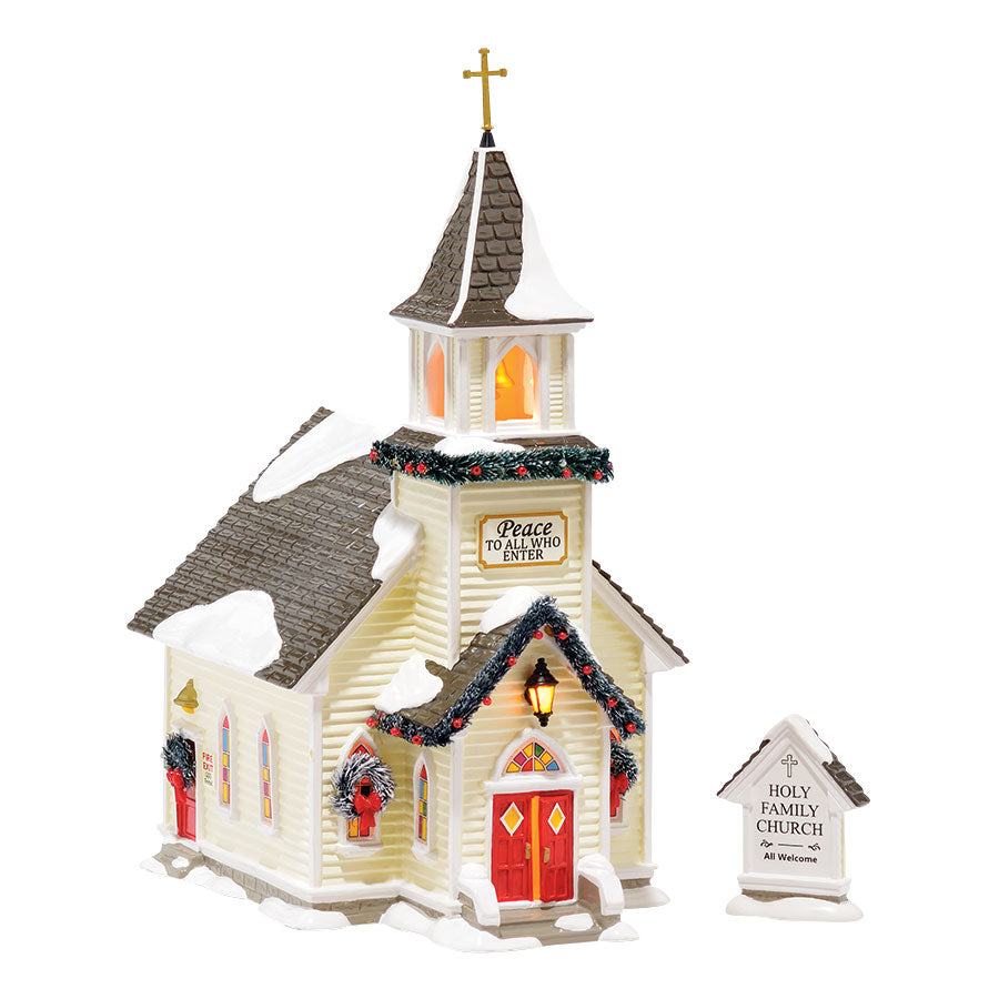 Holy Family Church, set of 2