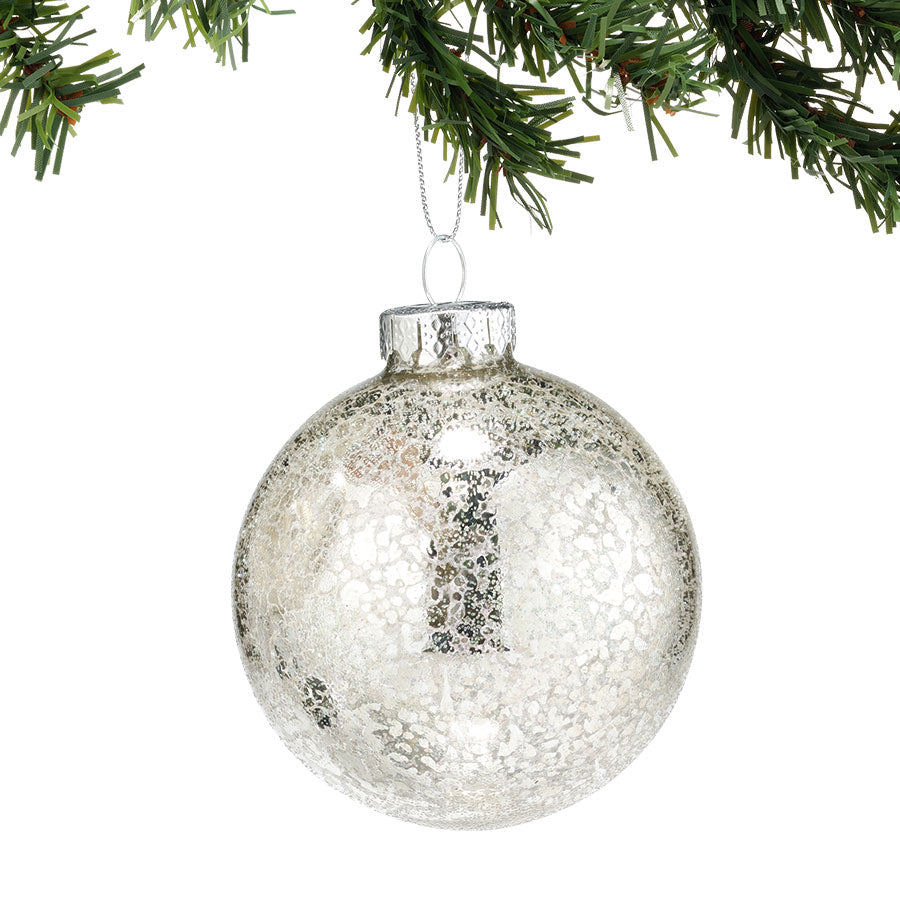 Silver Ball Ornament