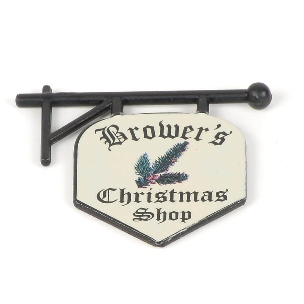 Brower's Christmas Shop Sign