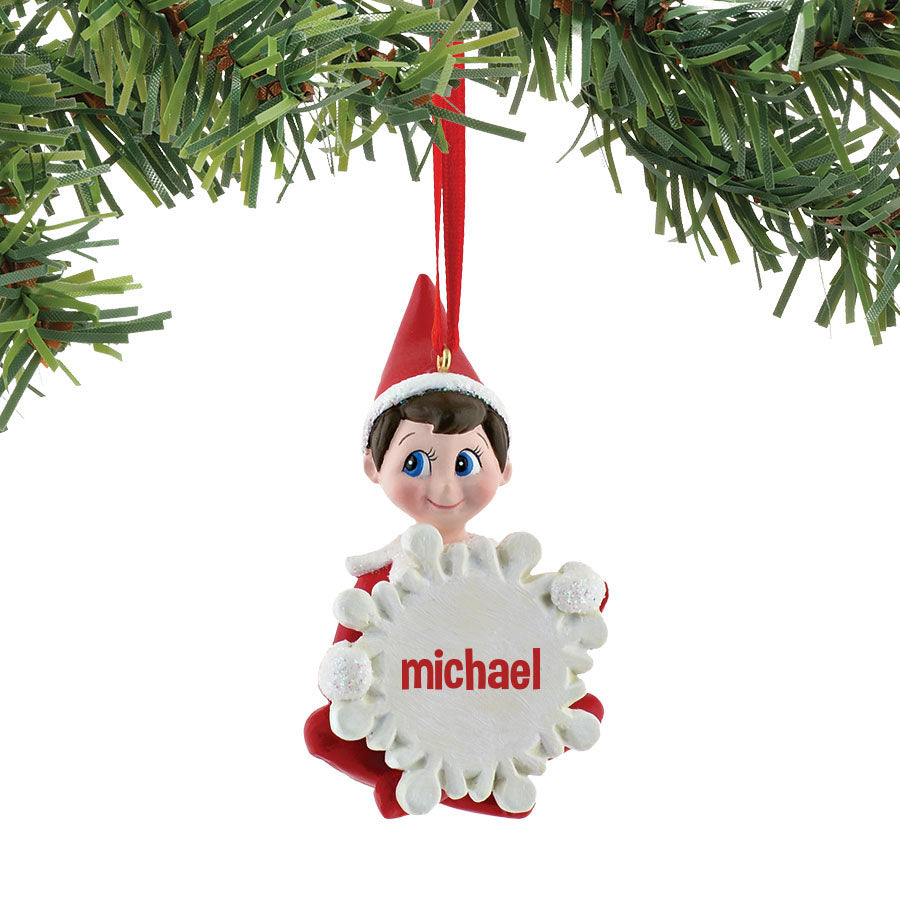 Snowflake Michael Ornament