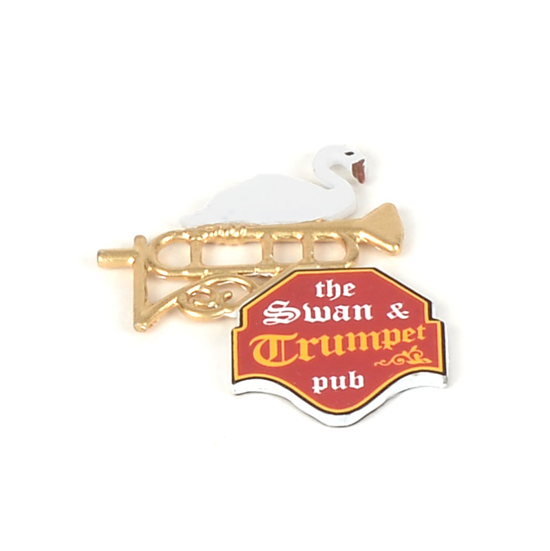 Swan & Trumpet Sign