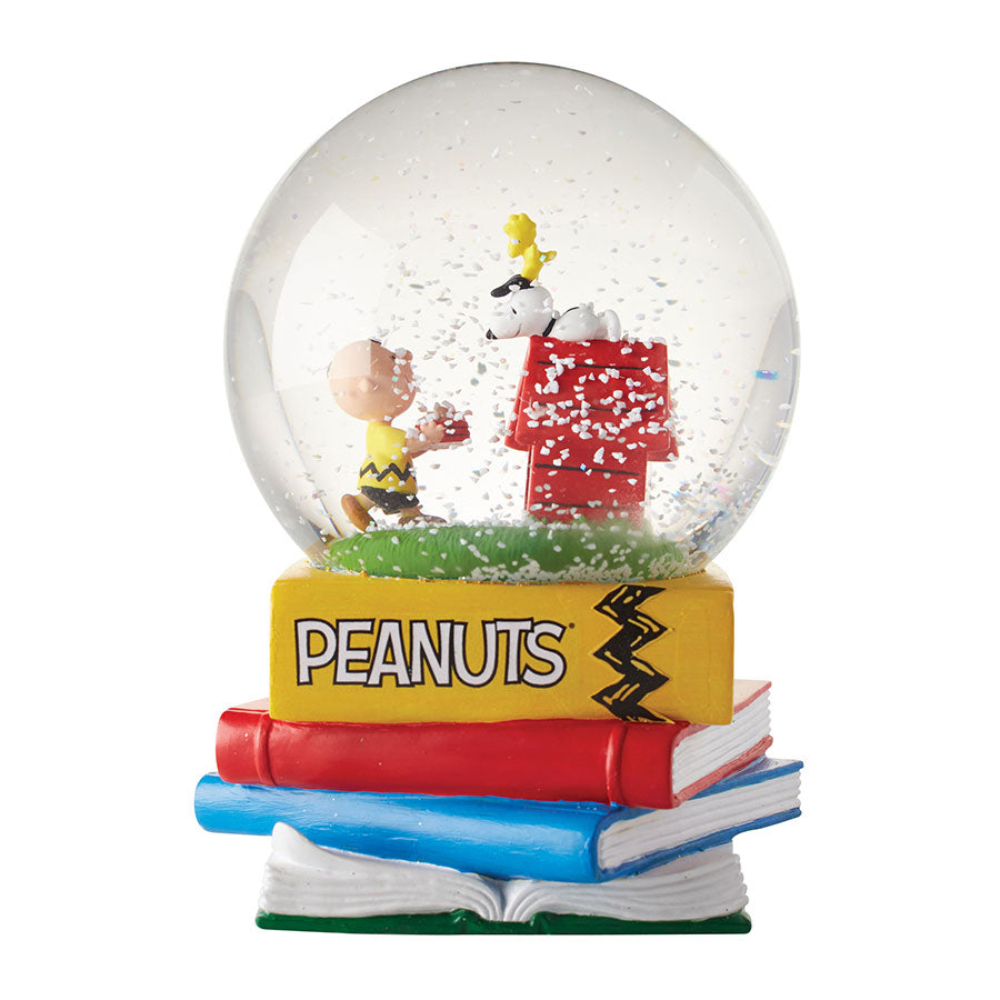 Peanuts Happiness Snow Globe