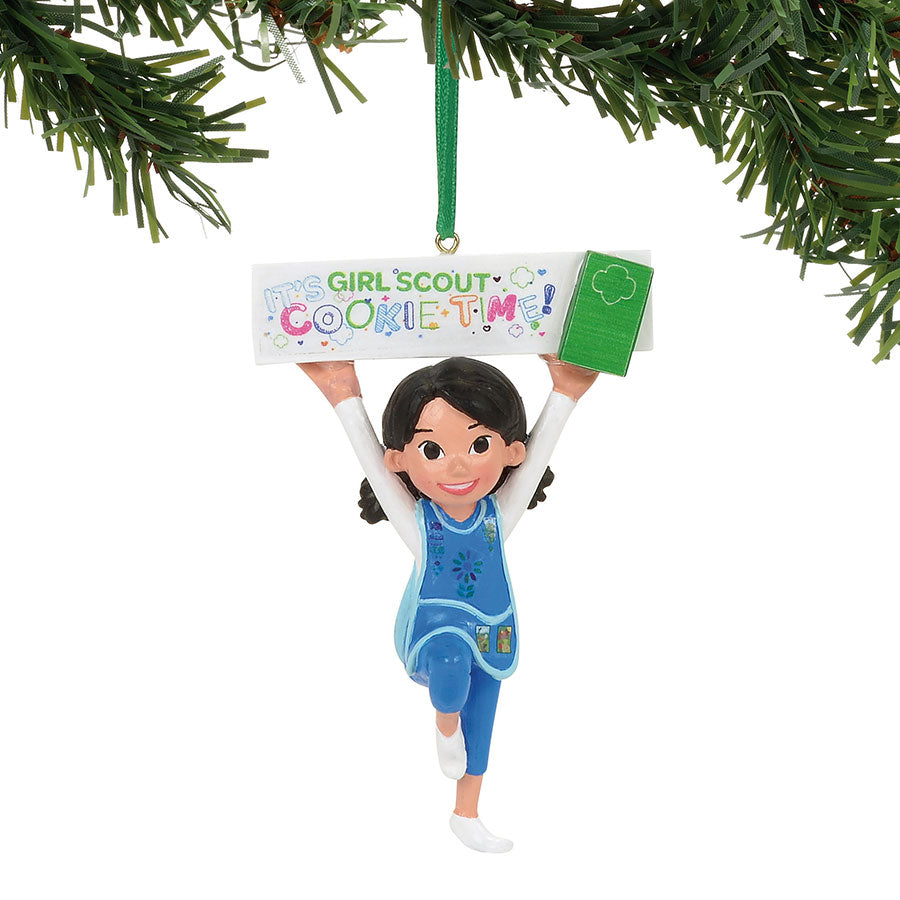 GS Daisy Cookie Time Ornament