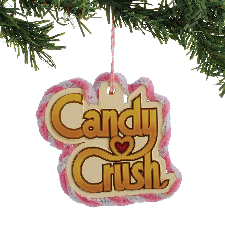 Candy Crush Logo Ornament