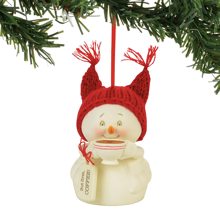 But First, Coffee! Ornament