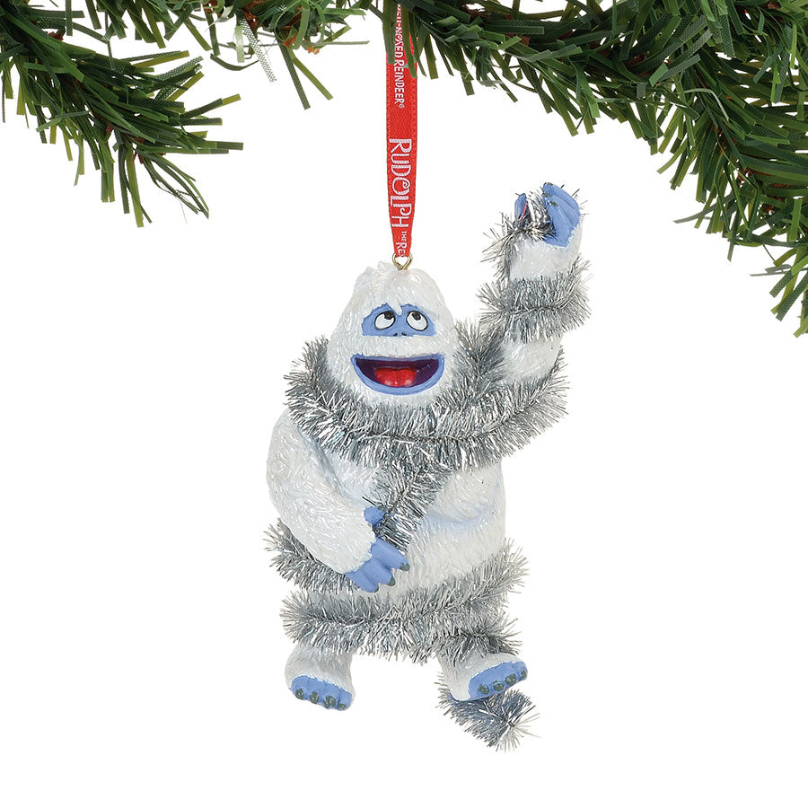 Bumble in Tinsel Ornament