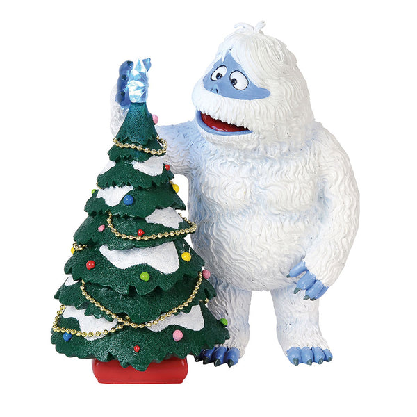 bumble decorating lit figure - Abominable Snowman Rudolph Christmas Decoration