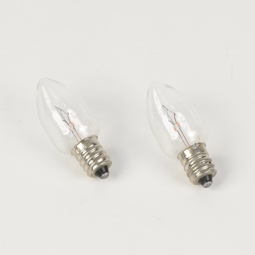 Replacement Clear Bulbs - 12V / 6W (under cauldron) Set of 2