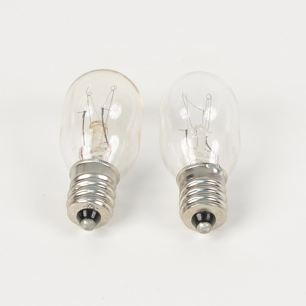 Clear Light Bulbs 120V -Set of 2