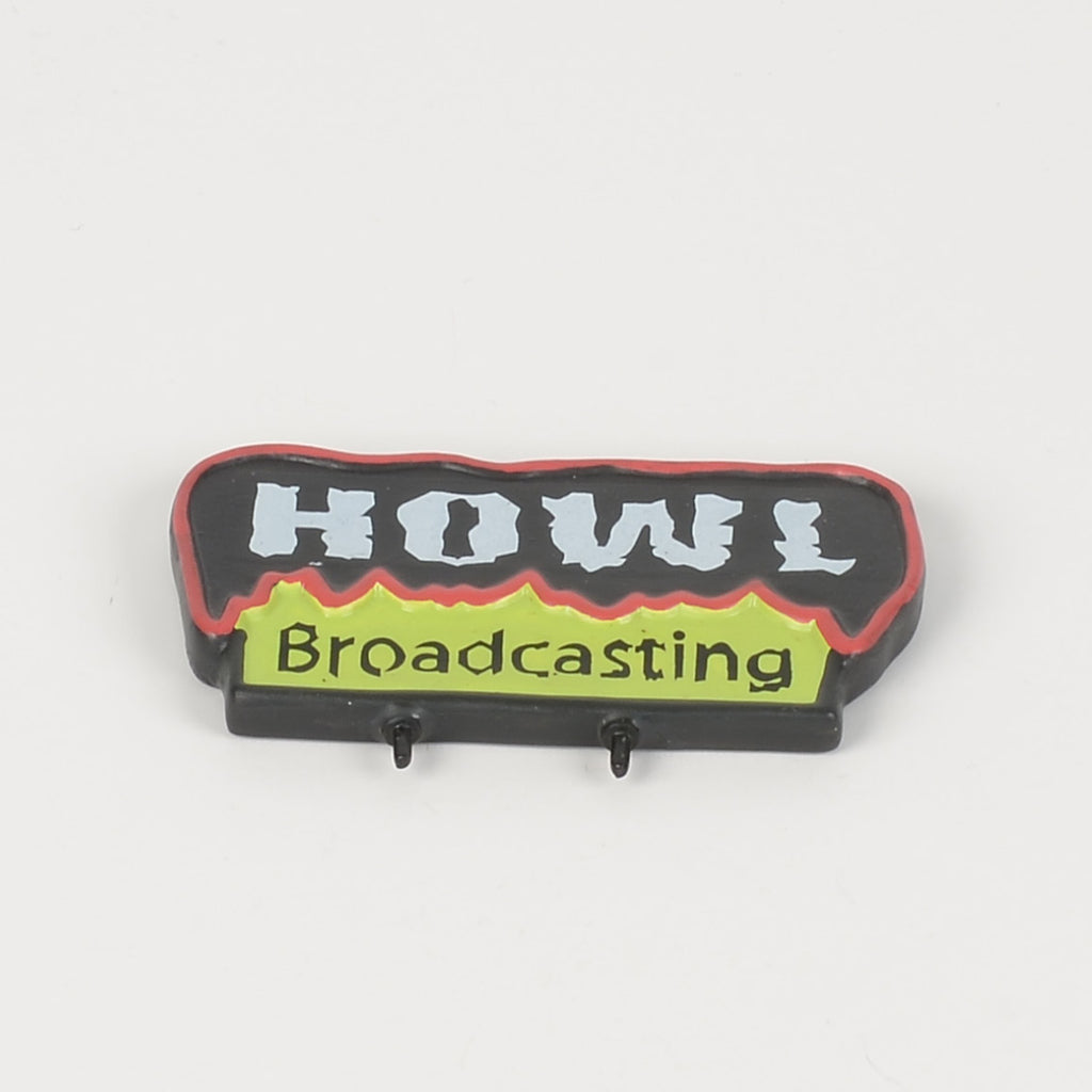HOWL Radio Sign
