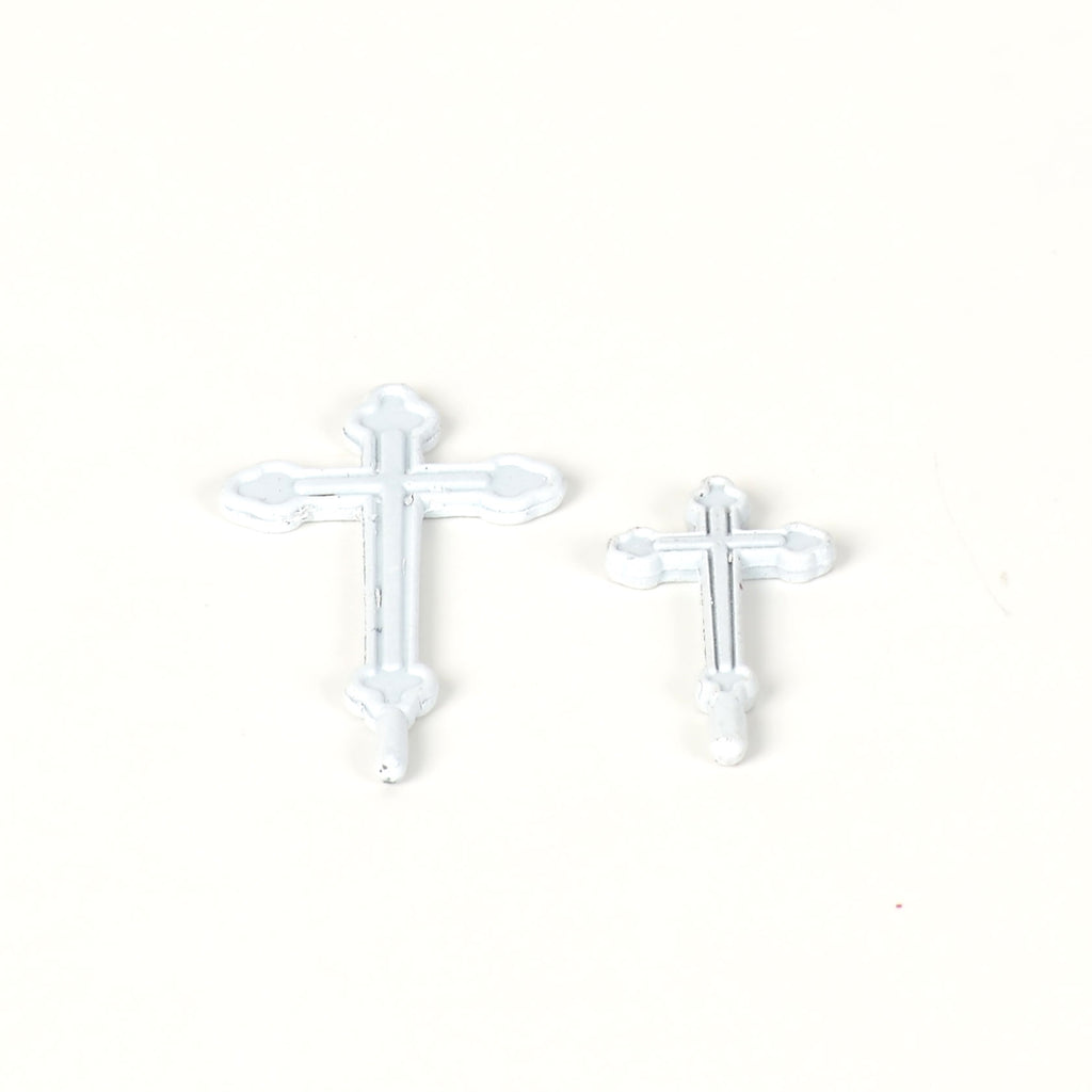 Stone Steeple Church Crosses - Set of 2