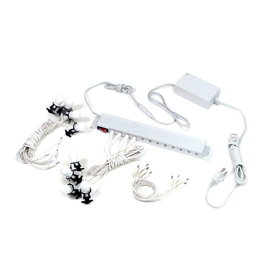 Department 56 Accessories for Department 56 Village Collections Replcmnt Aux Cord with Light Lights by Department 56