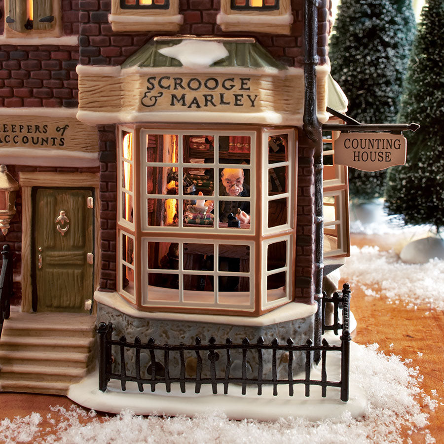 A Christmas Carol Scrooge And Marley.Dickens A Christmas Carol Scrooge Marley S Counting House