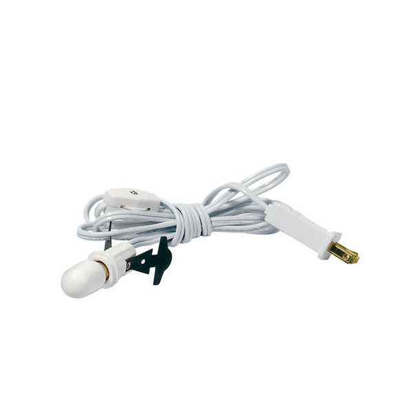 White Single Light Cord Set  #021