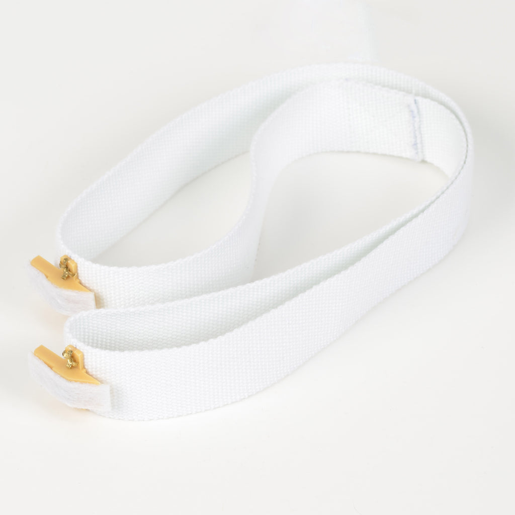 White Cloth Belt