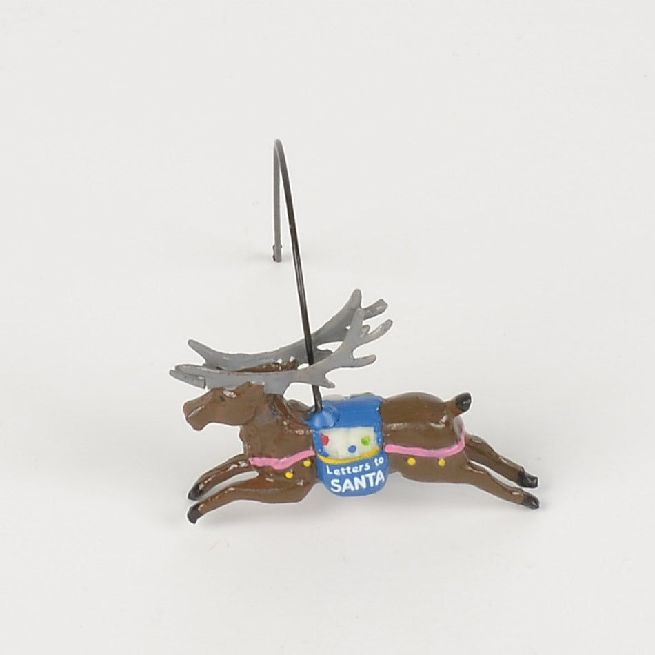 Letters to Santa Sorting Station Reindeer on a Wire