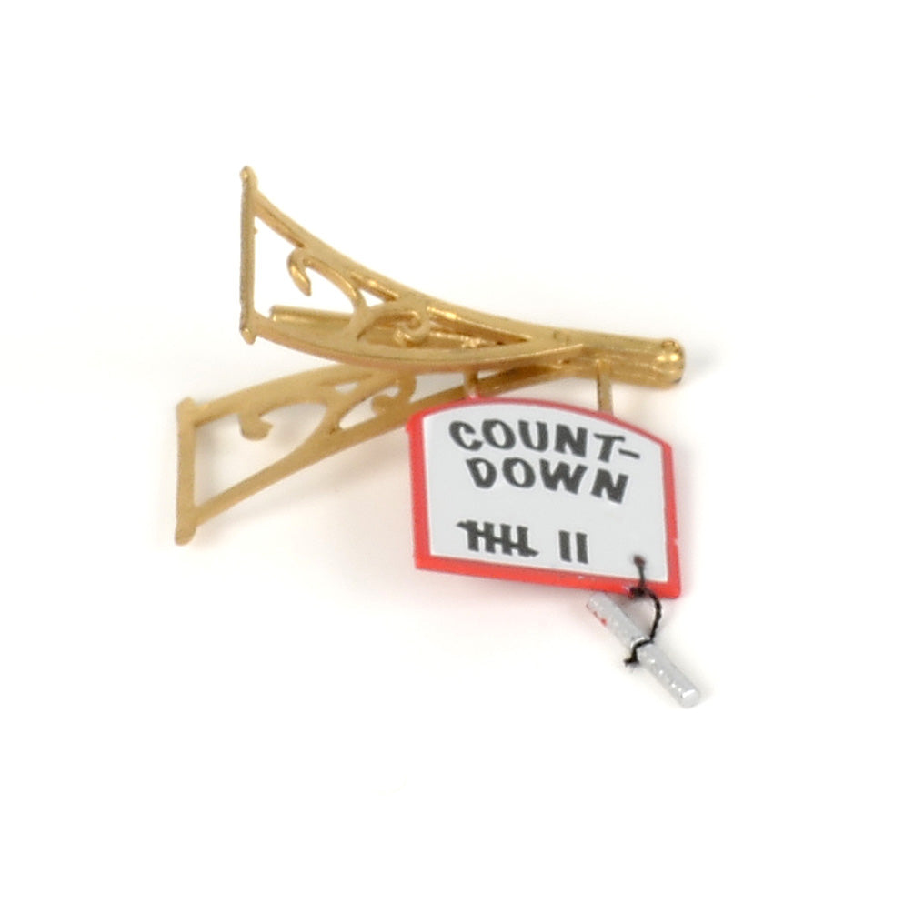 Countdown to Christmas Headquarters Sign