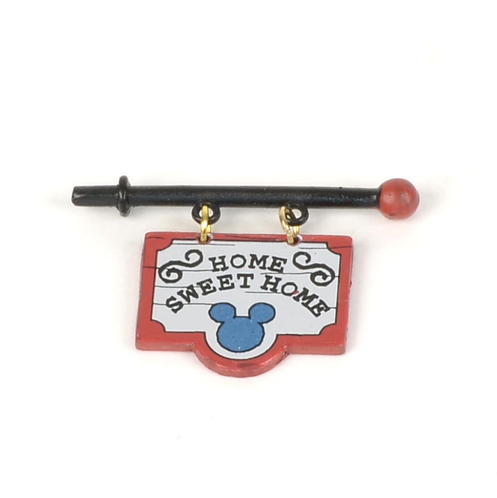 Mickey's Cratchits' Cottage Home Sweet Home Sign